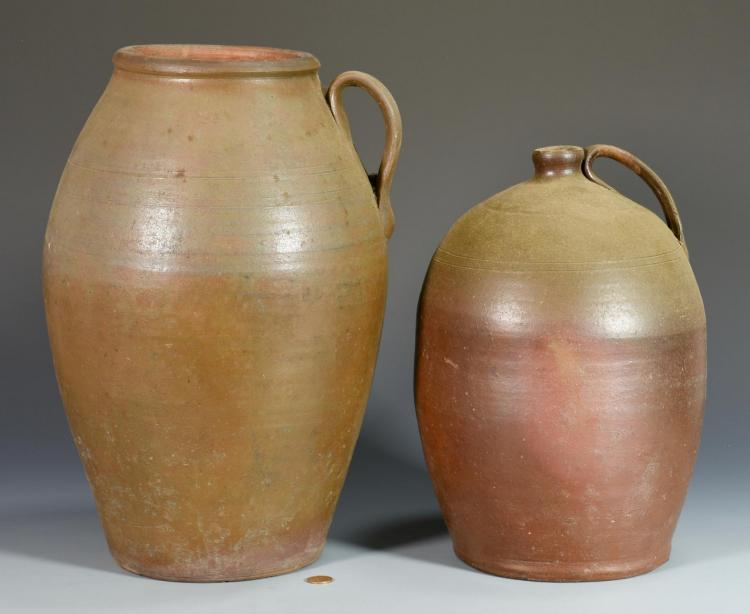 2 Middle TN Stoneware Pottery Items