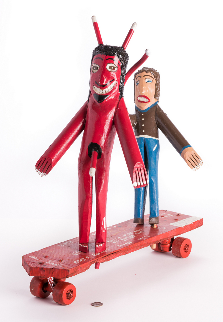 Ronald Cooper Folk Art Sculpture