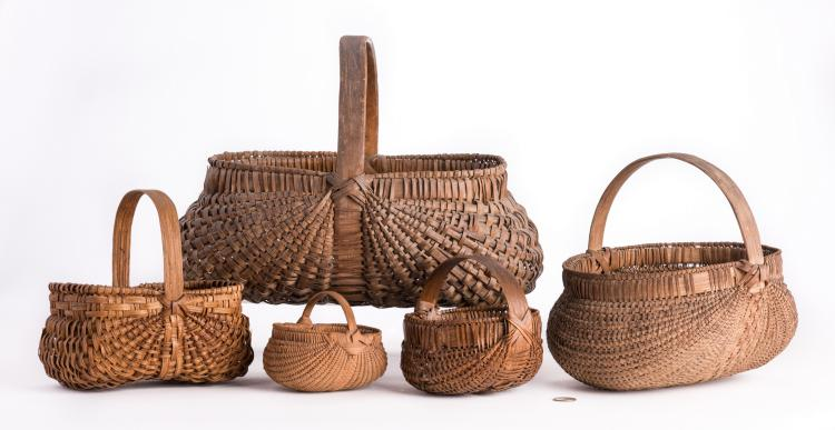 5 Early Southern Baskets