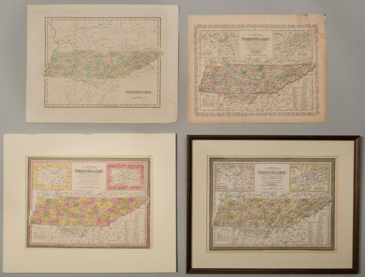 4 19th cent. TN Maps
