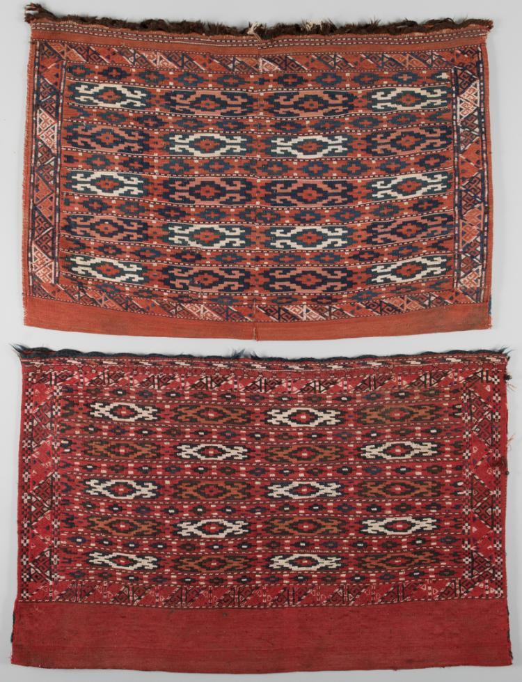 Two Turkoman Bags, early 20th c.