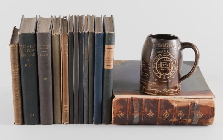 Yale Univ. 1894 Archive, Mug
