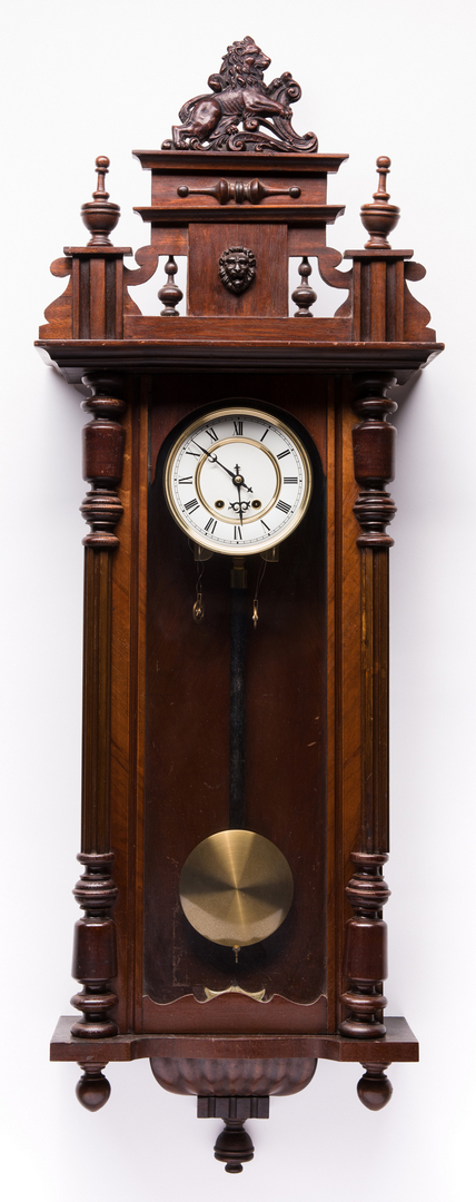 Late Empire Wall Hanging Clock