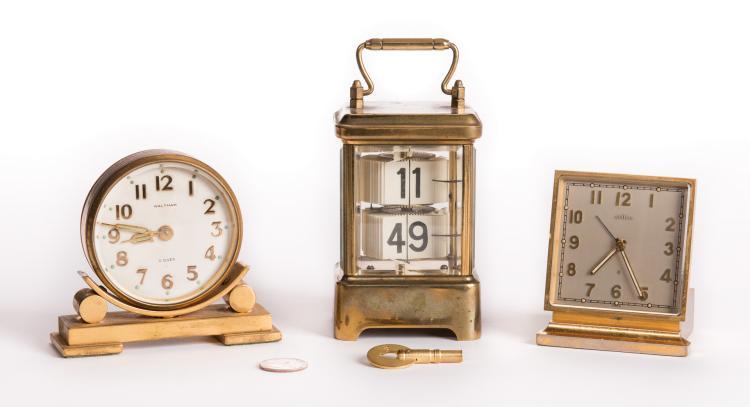 Lot of Three (3) 20th Century Clocks
