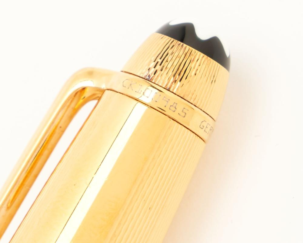 4 Montblanc Meisterstuck Writing Instruments, incl. Fountain Pen