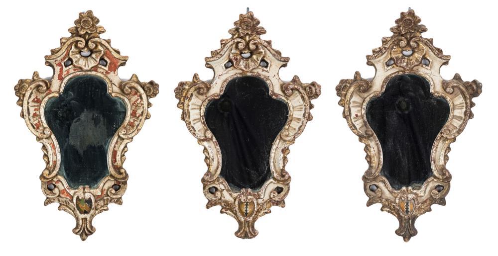 3 Baroque Style Mirrors