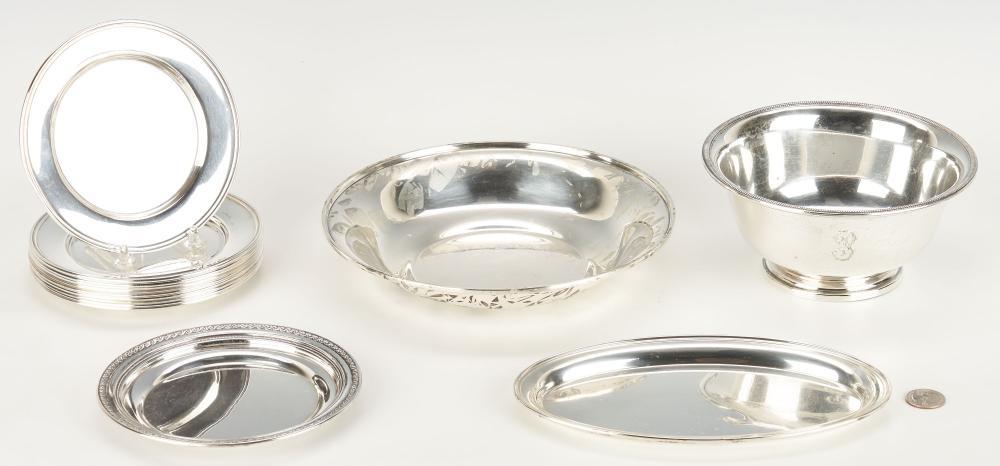 14 Asst. Sterling Silver Hollowware Items