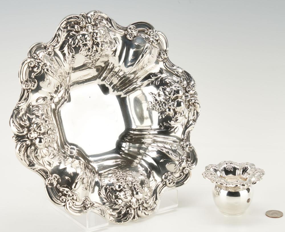 2 Reed & Barton Francis I Sterling Silver Hollowware Items