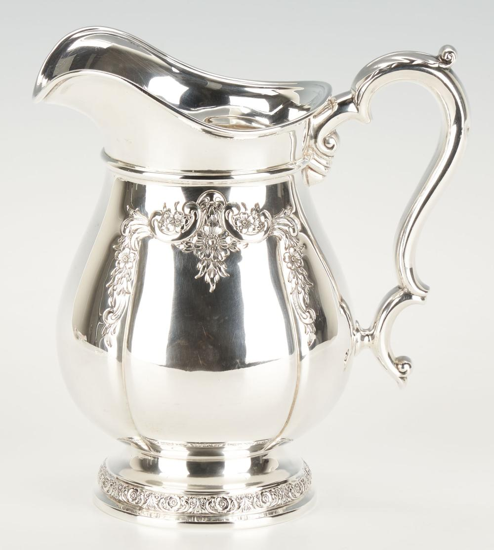 International Prelude Sterling Silver Water Pitcher