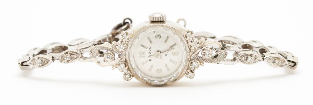 14K Diamond Bulova Watch