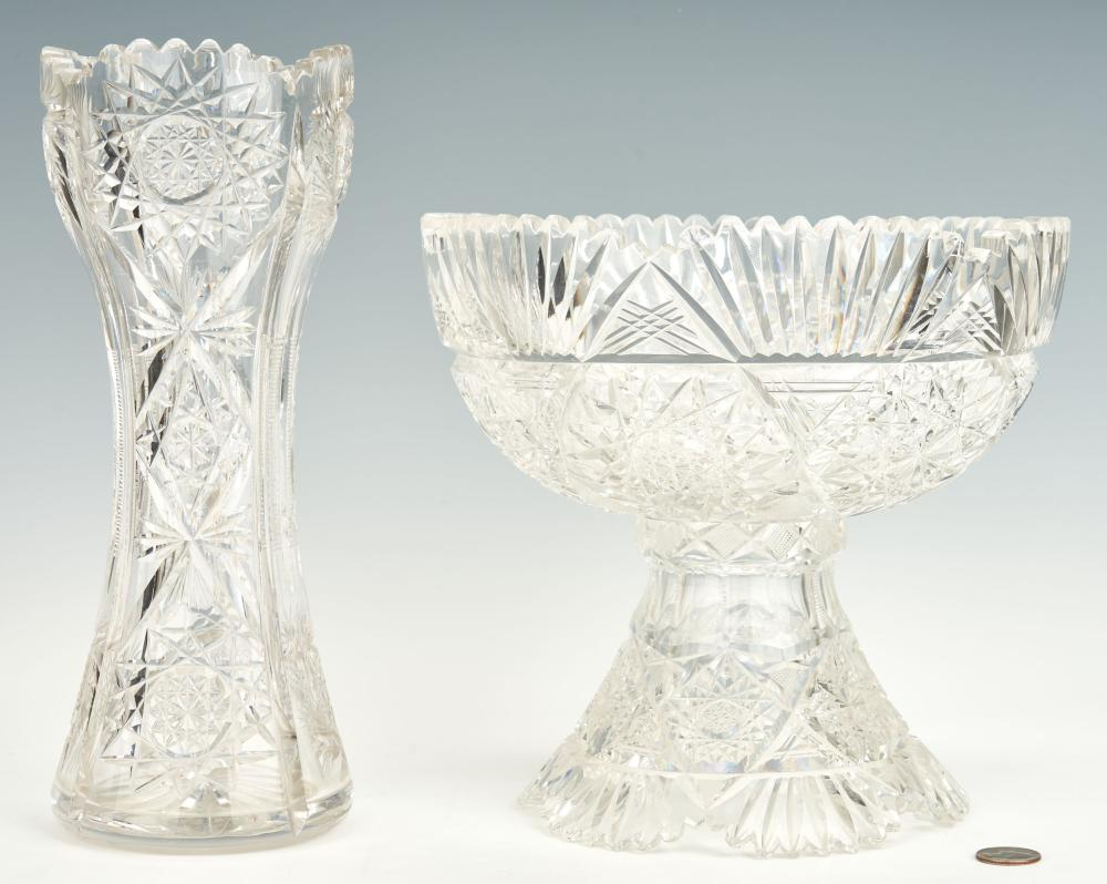 ABPCG Punch Bowl & Vase