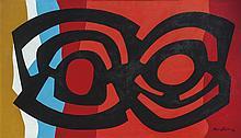 María Freire (1917-2015), Capricornio 2. Acrylic on canvas.
