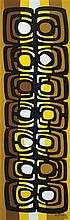 María Freire (1917-2015), El oro de los tigres. Acrylic on canvas.