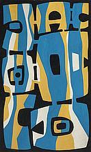 María Freire (1917-2015), Variante. Tempera on paper.