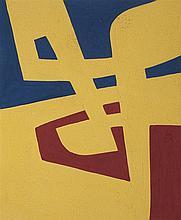 José Pedro Costigliolo (1902-1985), Forma amarilla. Tempera on paper.