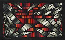 María Freire (1917-2015), Radiante. Oil on cardboard.