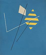 José Pedro Costigliolo (1902-1985), Cometa. Tempera on cardboard.