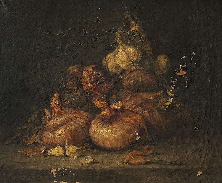 TOURILLON, ALFRED- GARLICS AND ONIONS