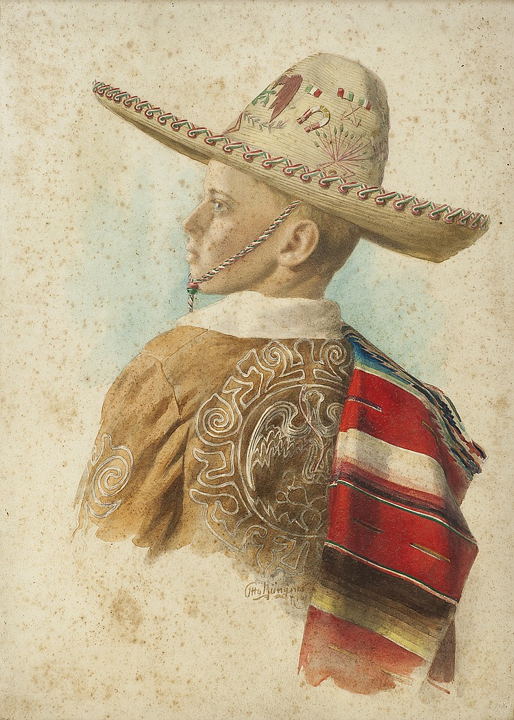 BRUNGNER, OTTO - A MEXICAN CHILD