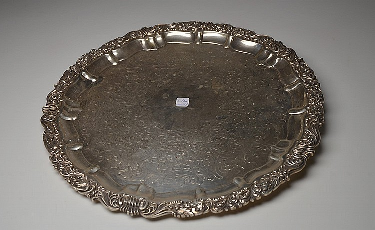 A METAL TRAY