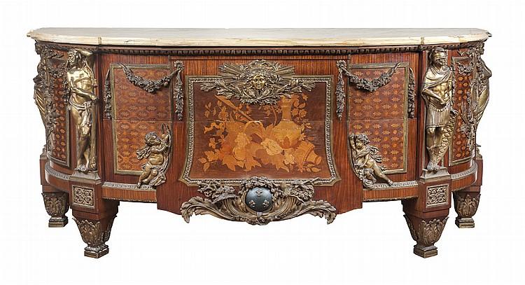 Extraordinaria cómoda Luis XVI,