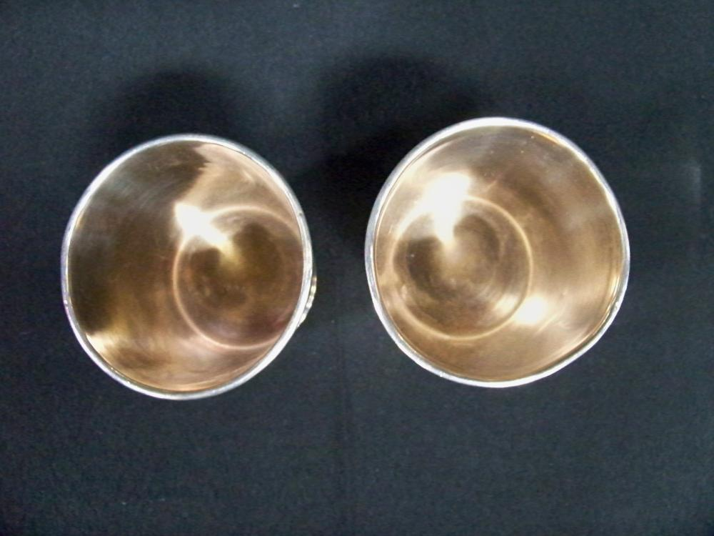 Pair of Kendrick Silver Julep Cups