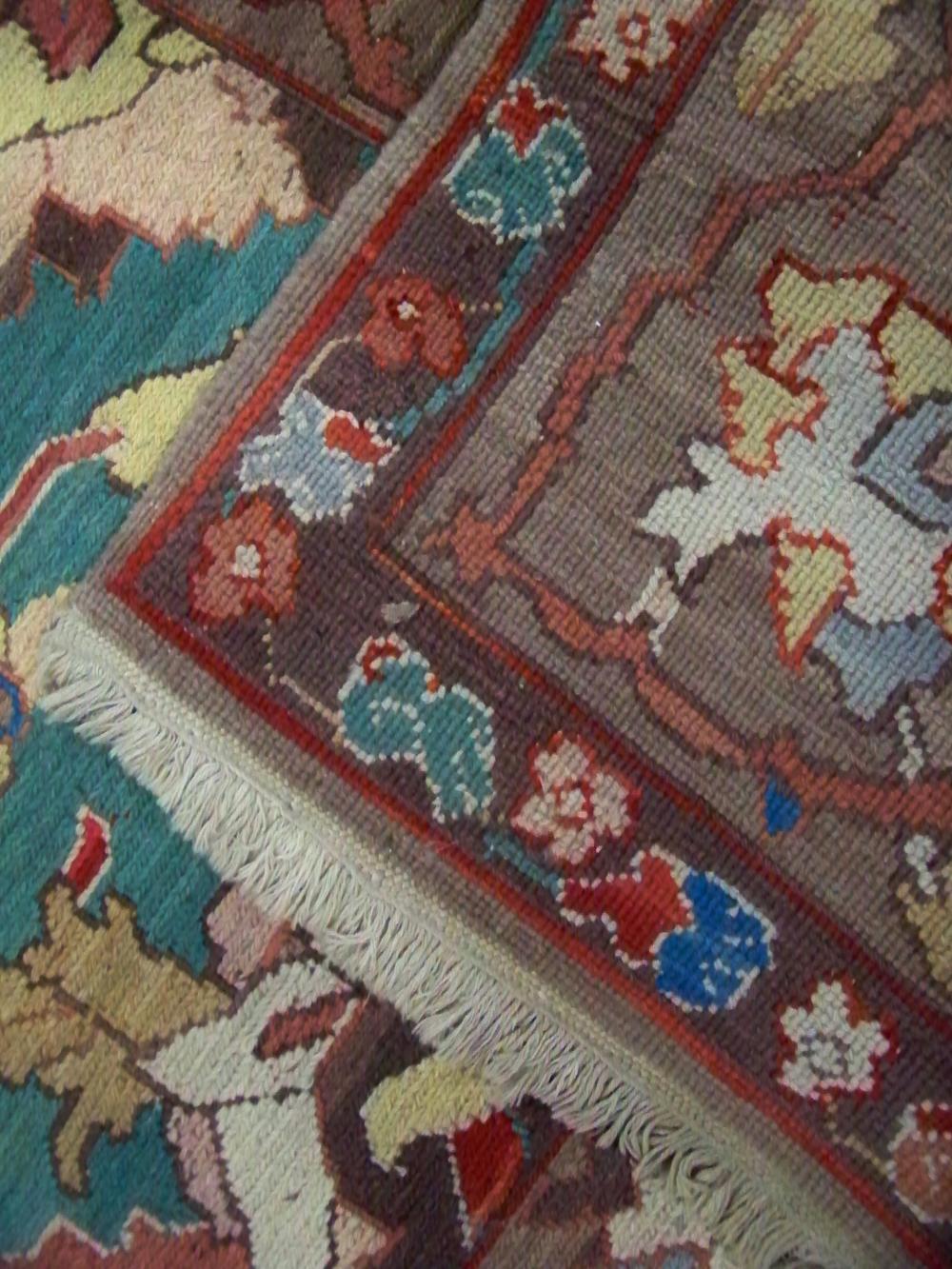 Vintage Area Wool Rug