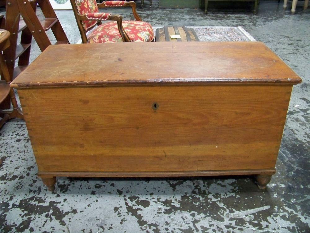 Antique Cherry Blanket Box