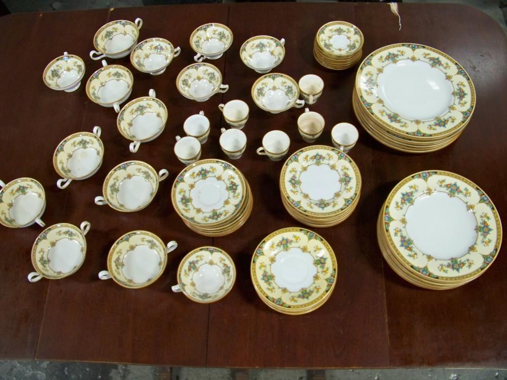 70 Piece Set of Minton China