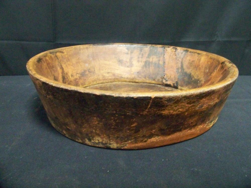 Large Burlwood Bowl