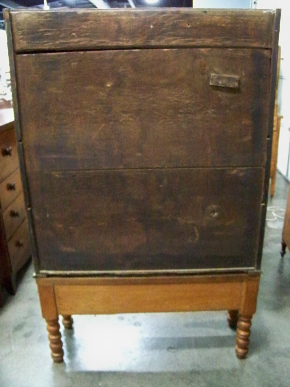 Antique Two Piece Cabinet on Stand