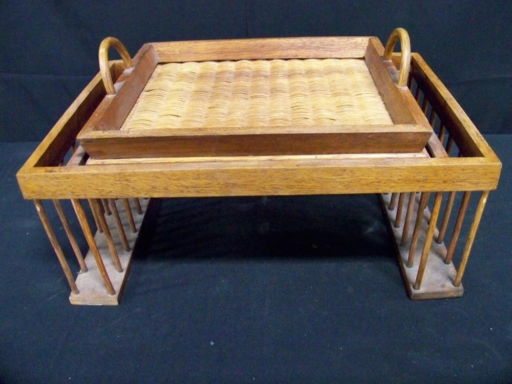 Wicker Bed Tray
