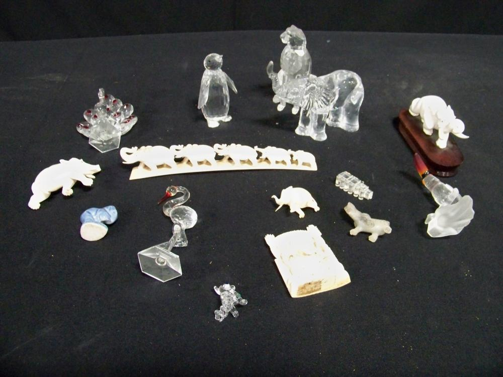 Large Group of Miniature Items