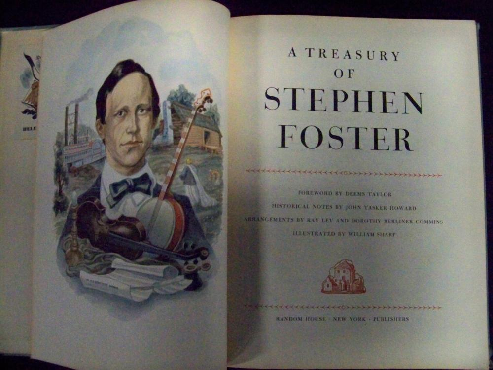 """""""A Treasury of Stephen Foster""""- First Edition"""