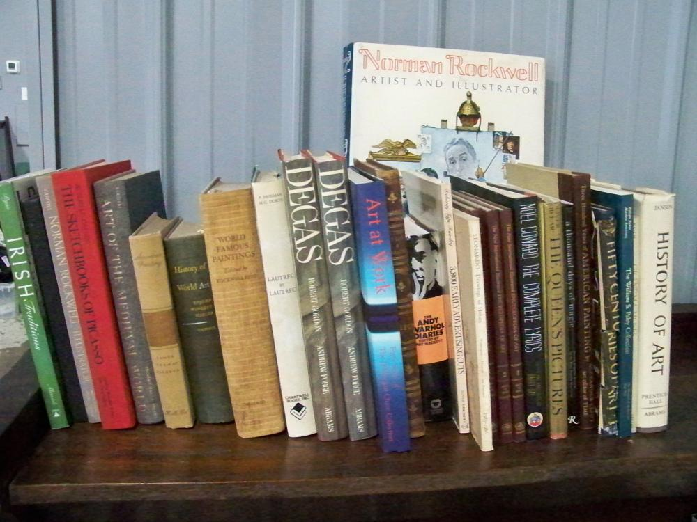 Collection of 28 Books on Art