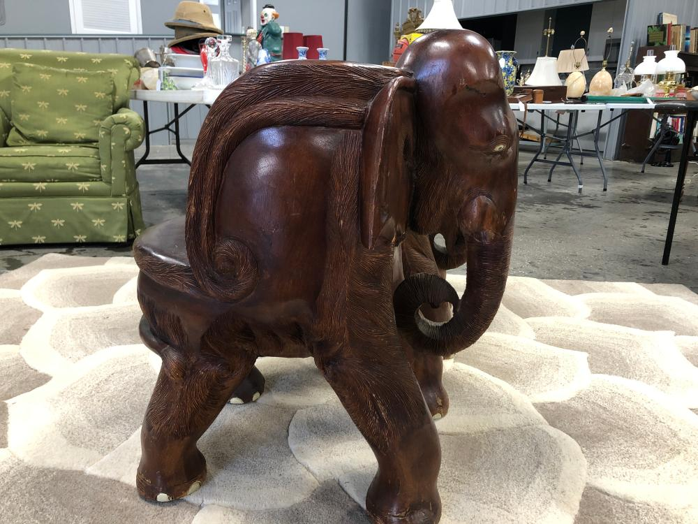 Pair of Elephant Chairs