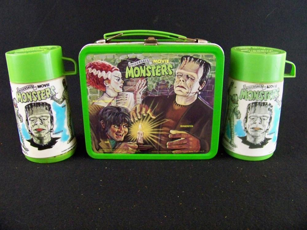 1979 Movie Monsters Lunchbox with Both Thermoses