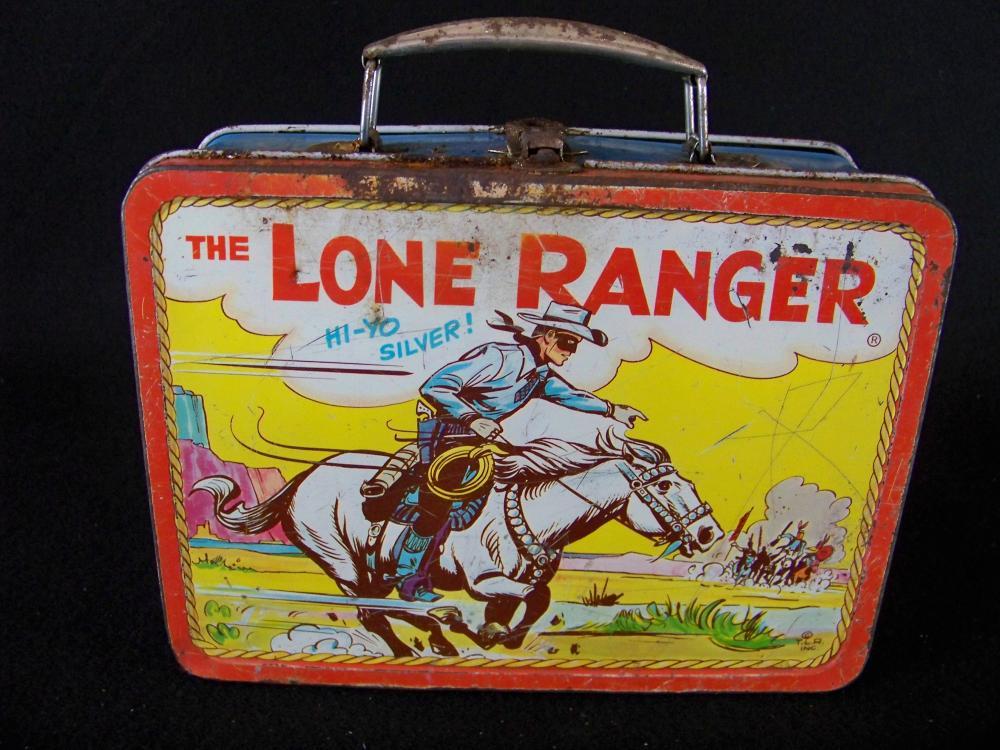 Adco 1954 Lone Ranger Hi-Yo Silver Lunch Box
