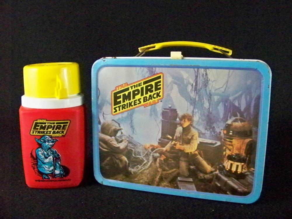 1980 Empire Strikes Back Star Wars Lunchbox with Thermos