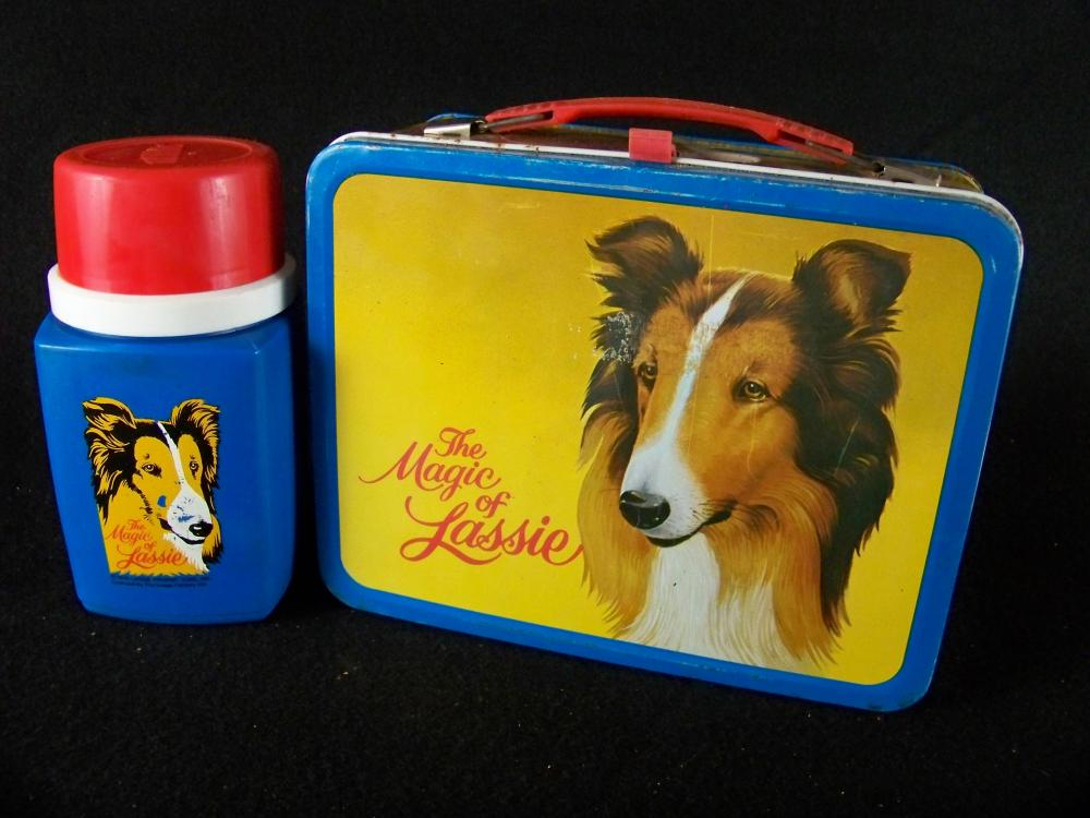 1978 The Magic of Lassie Lunchbox with Thermos