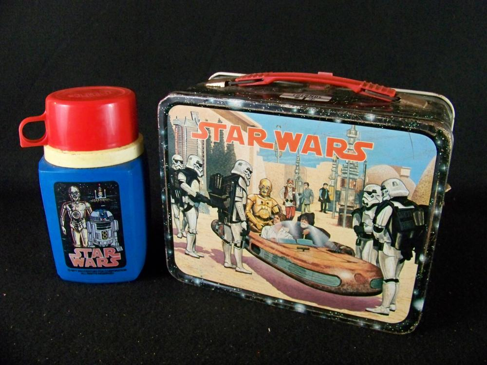1977 Star Wars Lunchbox with Thermos