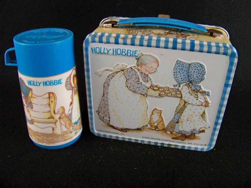 1979 Holly Hobbie Lunchbox with Thermos