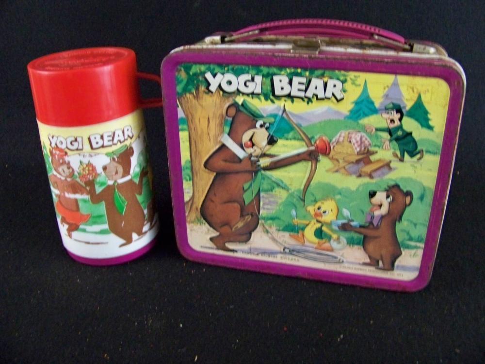 1974 Yogi Bear Lunchbox with Thermos