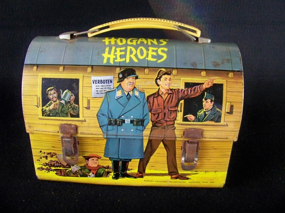 1966 Hogans Heroes Domed Lunchbox