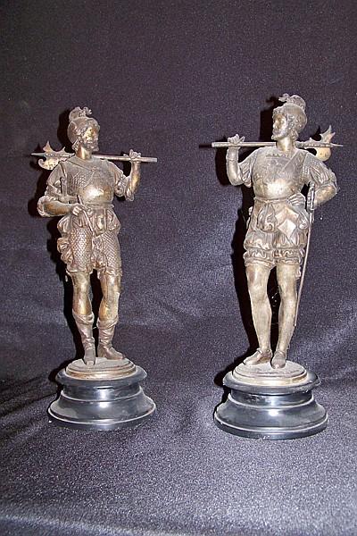 Pair of Soldier Figurines