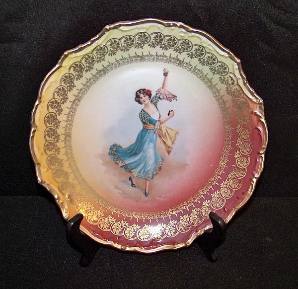 Handpainted Porcelain Plate
