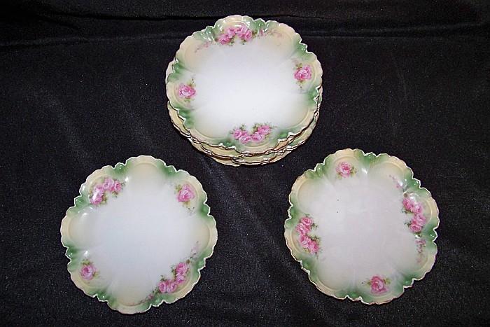 Set of 8 Small Dessert Plates