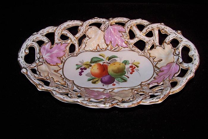 Pierced Ceramic Bread Basket