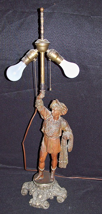 Tall Figural Table Lamp