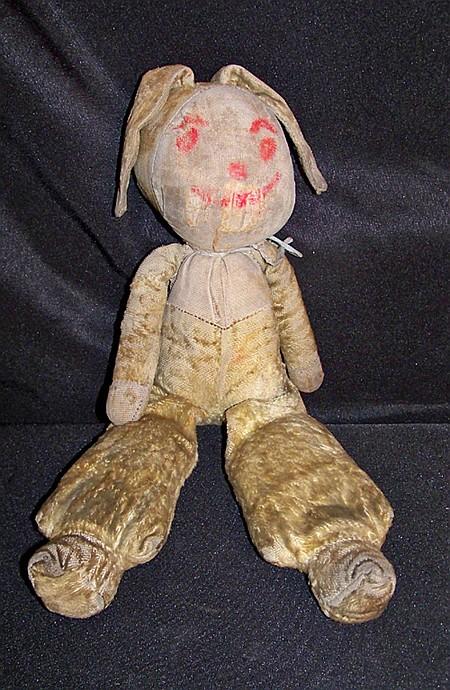 Primitive Sock Rabbit Doll